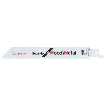 Bosch Prof Reciprozaagblad hout/metaal S 922 HF