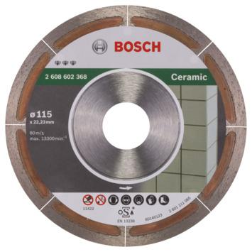 Bosch Prof Diamantzaagblad Extraclean 115mm keramiek