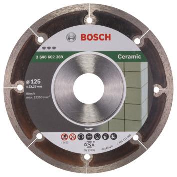 Bosch Prof Diamantzaagblad Extraclean 125mm keramiek
