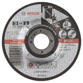 Bosch Prof Doorslijpschijf 115mm 2.5mm inox