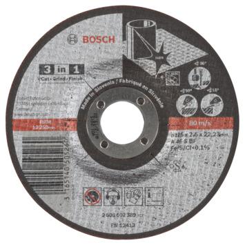 Bosch Prof Doorslijpschijf 125mm 2.5mm inox