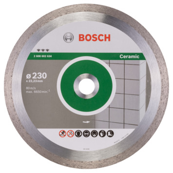 Bosch Prof Diamantzaagblad 230mm keramiek