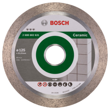 Bosch Prof Diamantzaagblad 125mm keramiek