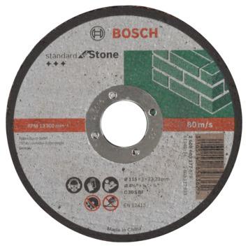 Bosch Prof Doorslijpschijf 115mm 3mm steen