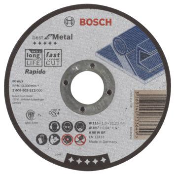 Bosch Prof Doorslijpschijf 115mm 1mm metaal
