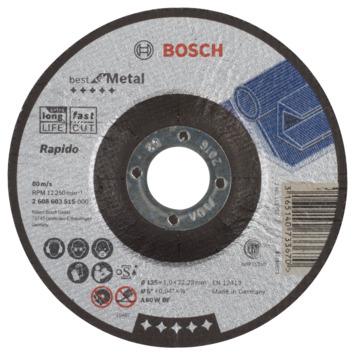 Bosch Prof Doorslijpschijf 125mm 1mm metaal