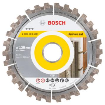 Bosch Prof Diamantzaagblad 125mm metaal