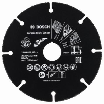 Bosch Prof slijpschijf carbide multi wheel 76mm