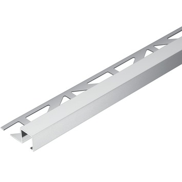 Tegelprofiel vierkant aluminium zilver 11 mm