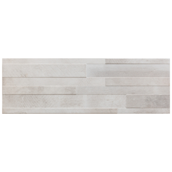 Wandtegel Decor Dust Bianco Muretto 20x60 cm