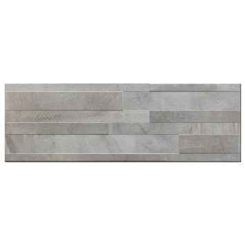 Wandtegel Decor Dust Grigio Muretto 20x60 cm