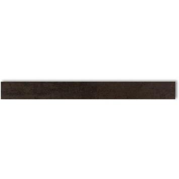 Wandtegel Corton Zwart 6x60 cm