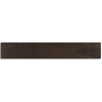 Wandtegel Corton Zwart 10x60 cm