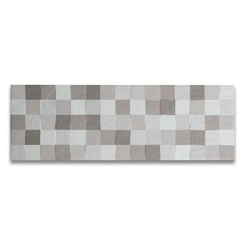 Mozaïektegel Unika Grijs 20x60 cm