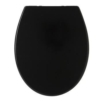 Tiger WC bril Aiden Zwart Kunststof met Softclose