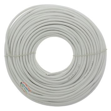 Q-Link UTP kabel CAT 6 AWG26 50 meter wit