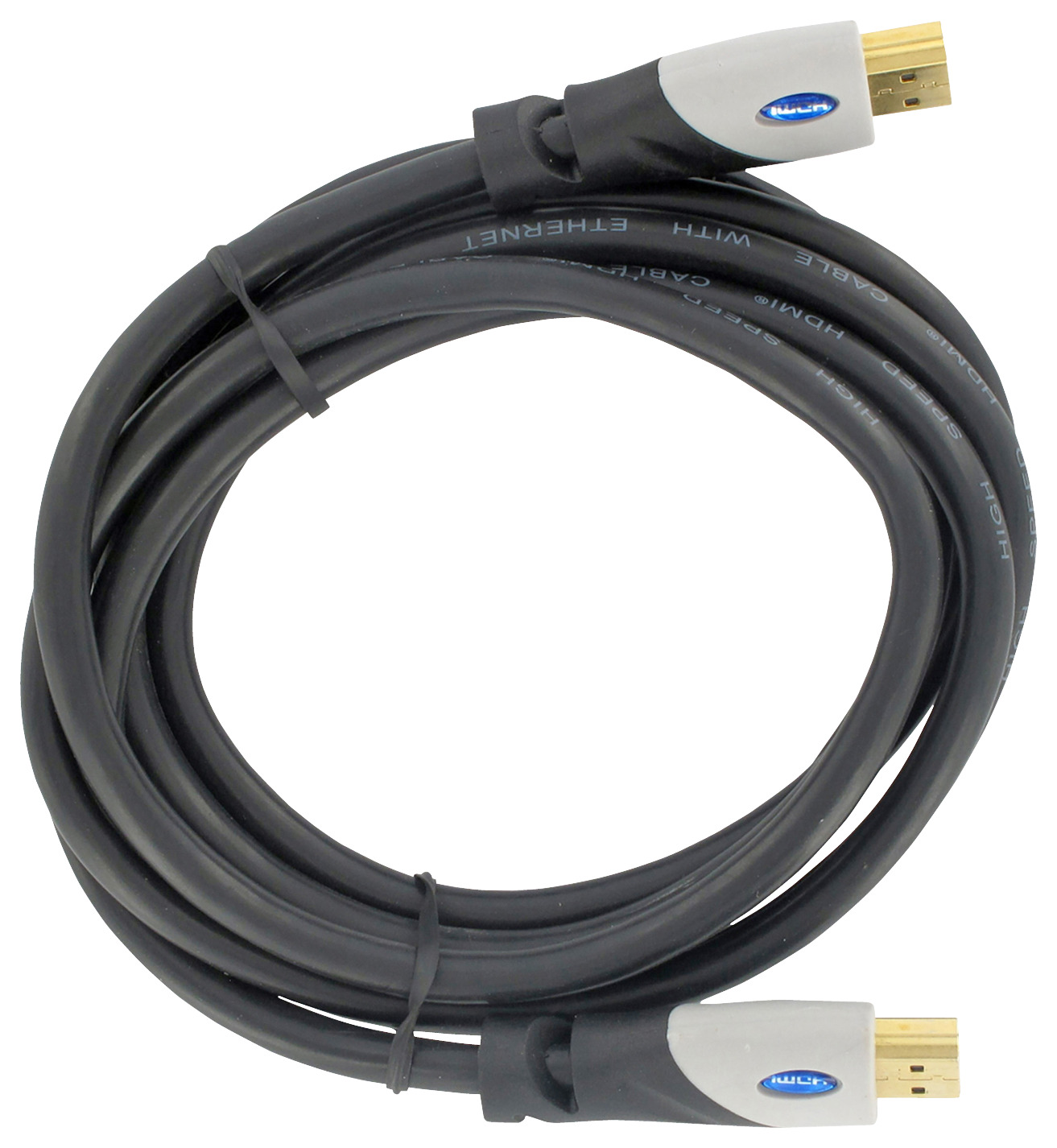 Q-Link HDMI kabel high speed gold plated 3D 5 meter zwart
