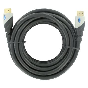 Q-Link HDMI kabel high speed gold plated 3D 10 meter zwart