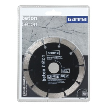 GAMMA diamantzaagblad 125mm beton