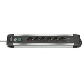 Brennenstuhl Alu-line stekkerdoos met 2 USB aansluitingen