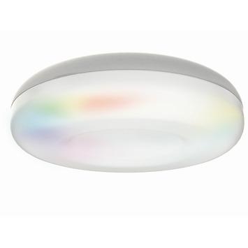 Gamma idual plafondlamp daphnis ip44 aluminium kopen for Badkamerverlichting led