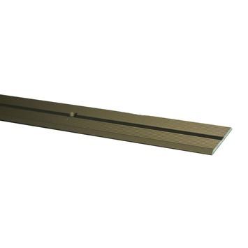 Finifix overgangsprofiel schroef brons 93 cm