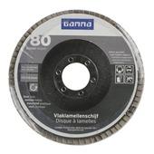 GAMMA lamellenschijf   115mm k80