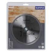 GAMMA cirkelzaagblad   72t 185x16mm