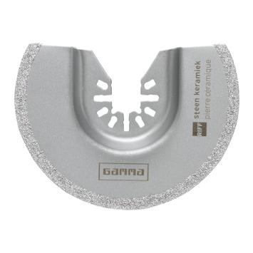 GAMMA segmentzaagblad multitool steen 90x2