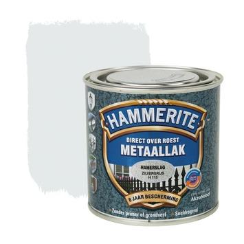 Hammerite metaallak zilvergrijs hamerslag 250 ml