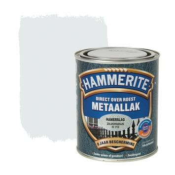 Hammerite metaallak zilver hamerslag 750 ml