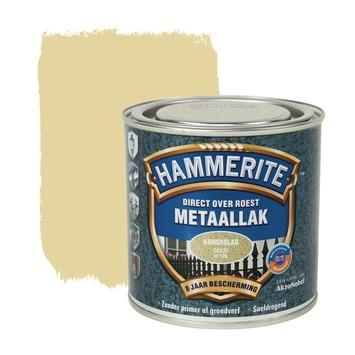 Hammerite metaallak goud hamerslag 250 ml