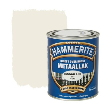 Hammerite metaallak wit 750 ml