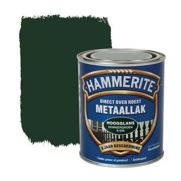 Hammerite metaallak donkergroen hoogglans 750 ml