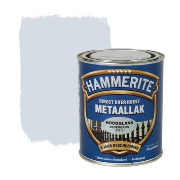 Hammerite metaallak zilvergrijs hoogglans 750 ml