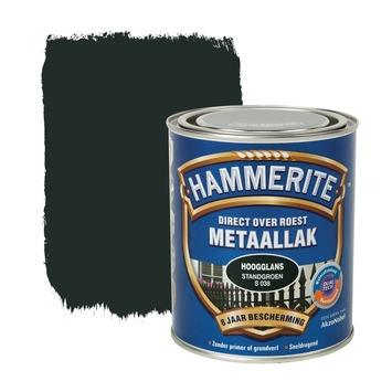 Hammerite metaallak standgroen hoogglans 750 ml