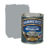 Hammerite metaallak grijs hamerslag 750 ml