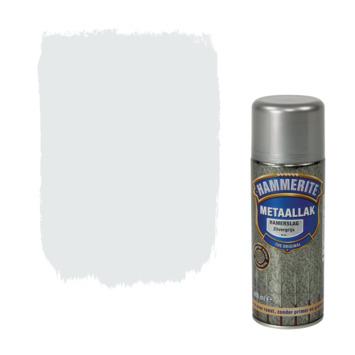 Hammerite metaallak spuitbus zilvergrijs hamerslag 400 ml