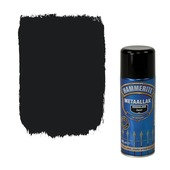Hammerite metaallak spuitbus zwart hoogglans 400 ml