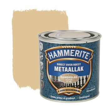 Hammerite metaallak koper hamerslag 250 ml