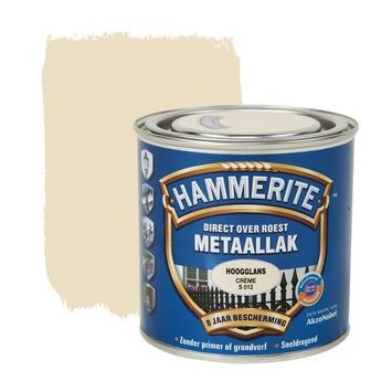 Hammerite metaallak creme hoogglans 250 ml