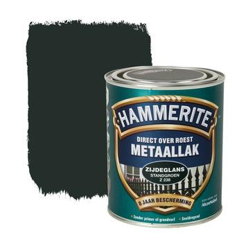 Hammerite metaallak standgroen zijdeglans 750 ml
