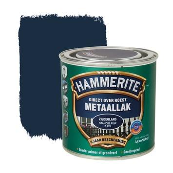 Hammerite metaallak standblauw zijdeglans 250 ml