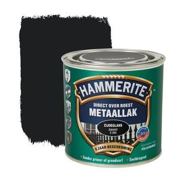 Hammerite metaallak zwart zijdeglans 250 ml