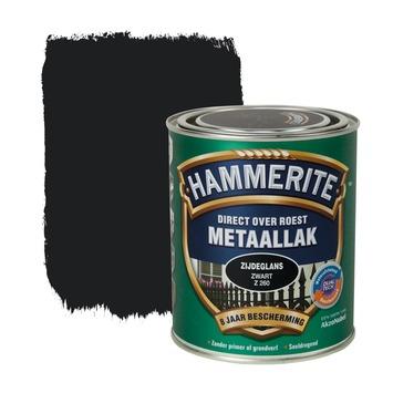 Hammerite metaallak zwart zijdeglans 750 ml