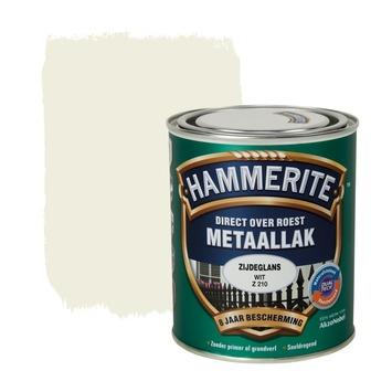 Hammerite metaallak wit zijdeglans 750 ml