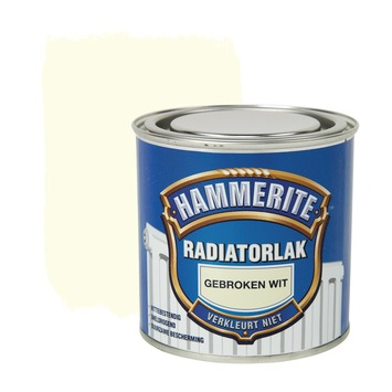 Hammerite radiatorlak gebroken wit hoogglans 250 ml