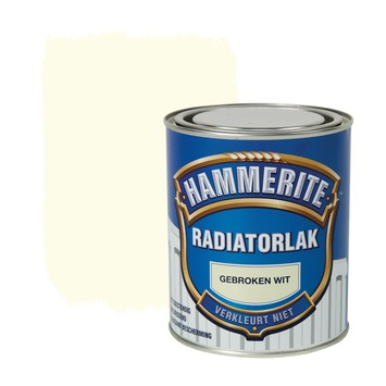 Hammerite radiatorlak gebroken wit hoogglans 750 ml