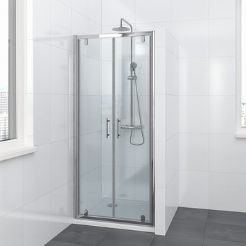 Bruynzeel Lino pendeldeur chroom 80x195 cm