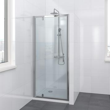 Bruynzeel Lino draaideur chroom 80x195 cm